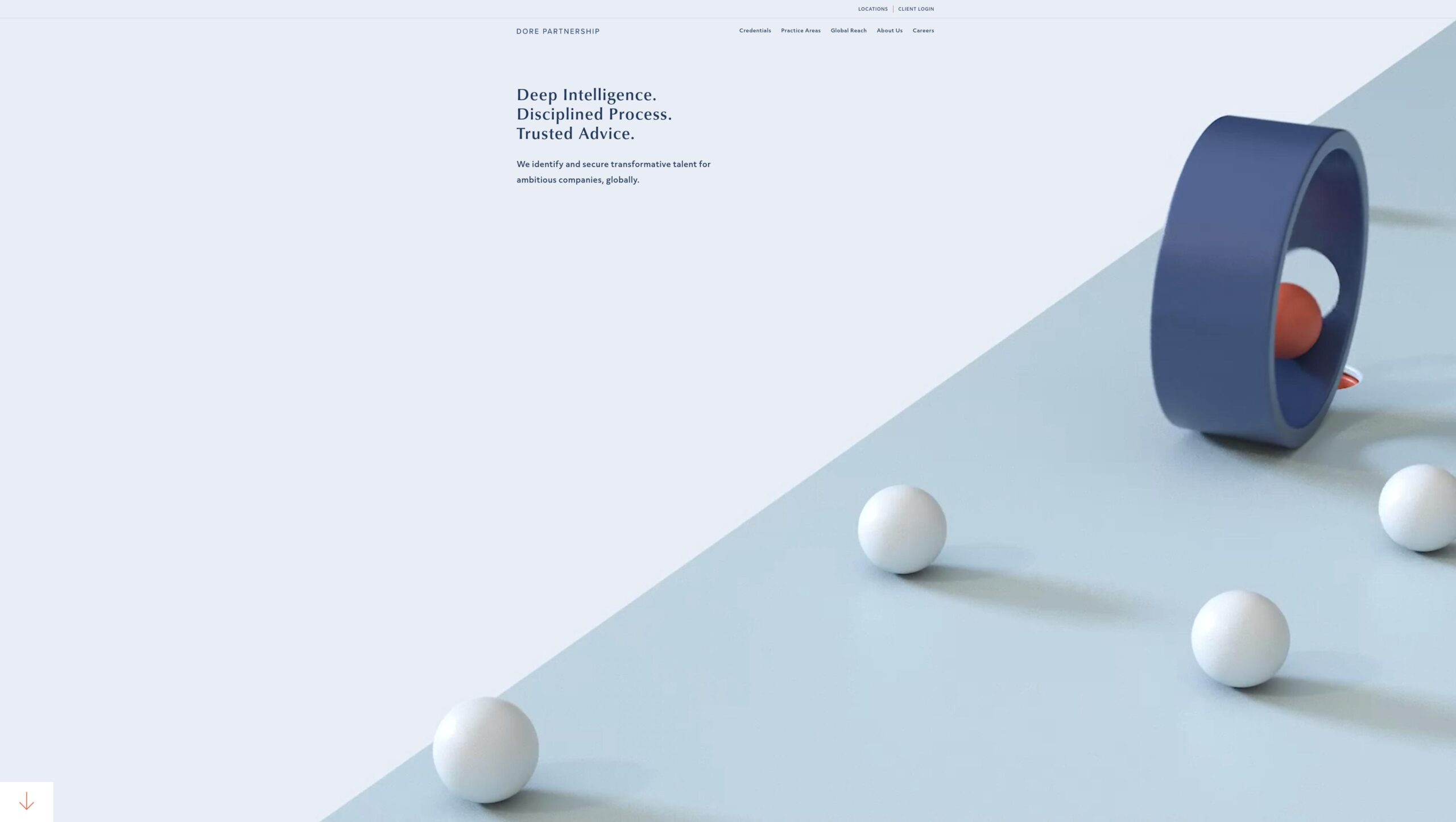 Orpetron Web Design Awards - Dore Partnership - Web Design Awards Inspiration Trends UI UX