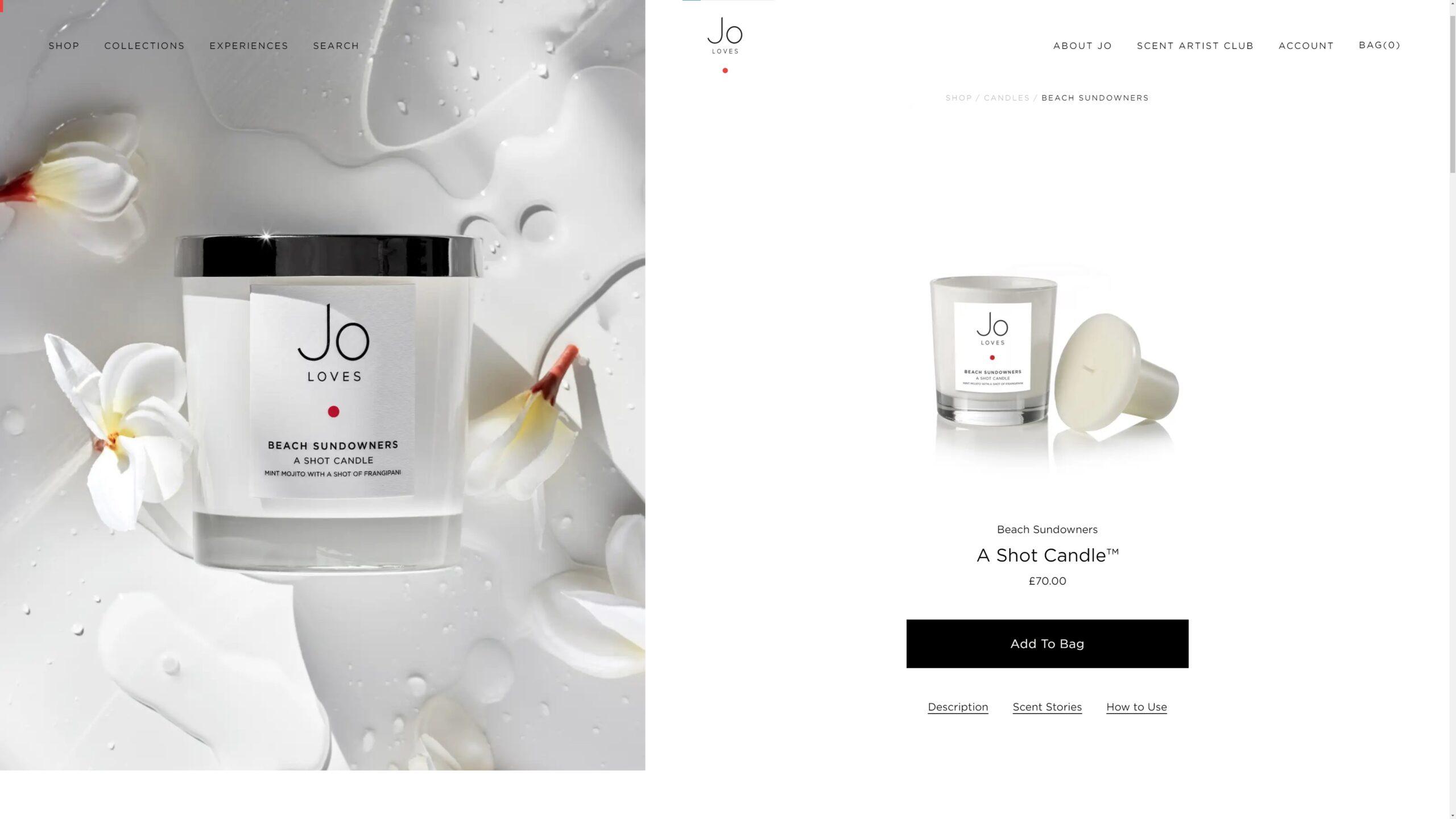 Orpetron Web Design Awards - Jo Loves - Web Design Awards Inspiration Trends UI UX