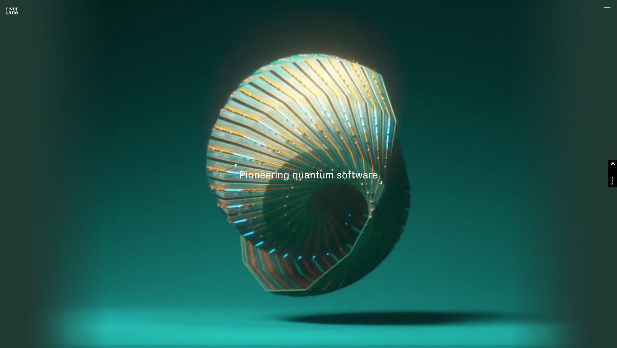 Orpetron Web Design Awards - Riverlane - Web Design Awards Inspiration Trends UI UX