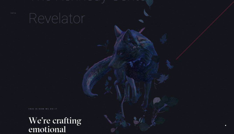 Orpetron Web Design Awards - Dogstudio - Web Design Awards Inspiration Trends UI UX