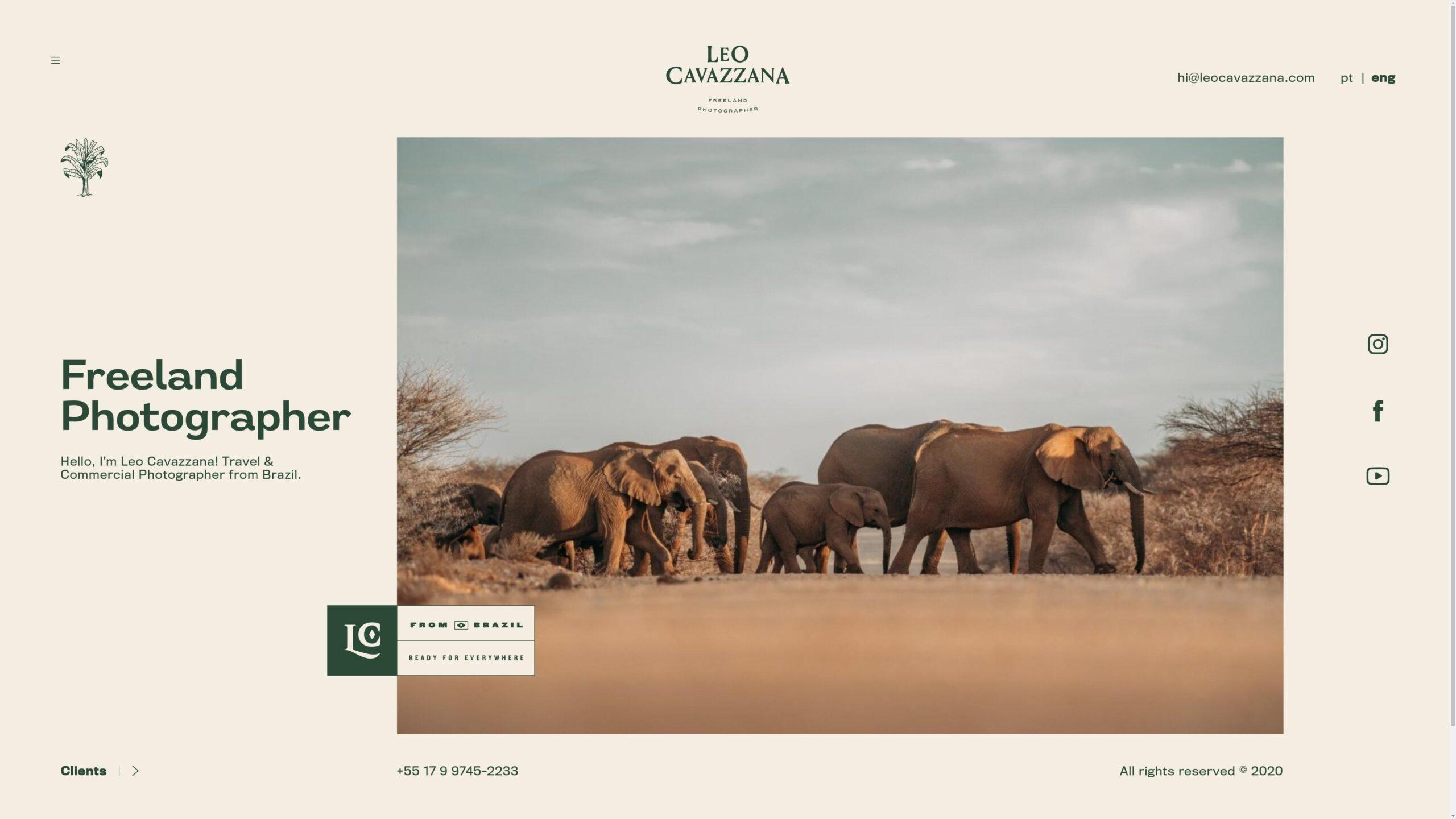 Orpetron Web Design Awards - Leo Cavazzana - Web Design Awards Inspiration Trends UI UX