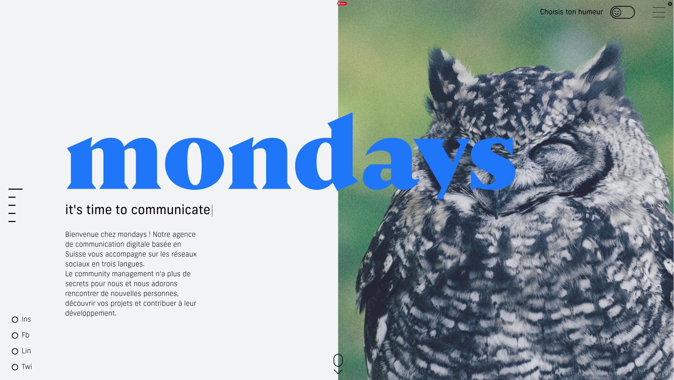 Orpetron Web Design Awards - Mondays - Web Design Awards Inspiration Trends UI UX