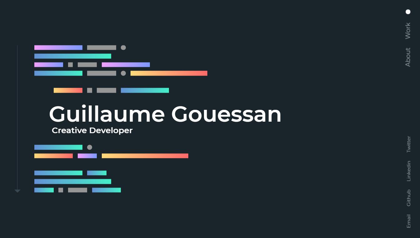 Orpetron Web Design Awards - Guillaume Gouessan Portfolio - Web Design Awards Inspiration Trends UI UX