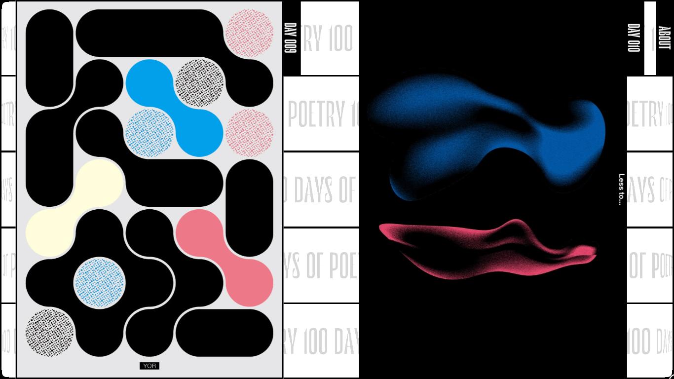 Orpetron Web Design Awards - 100 DAYS OF POETRY - Web Design Awards Inspiration Trends UI UX
