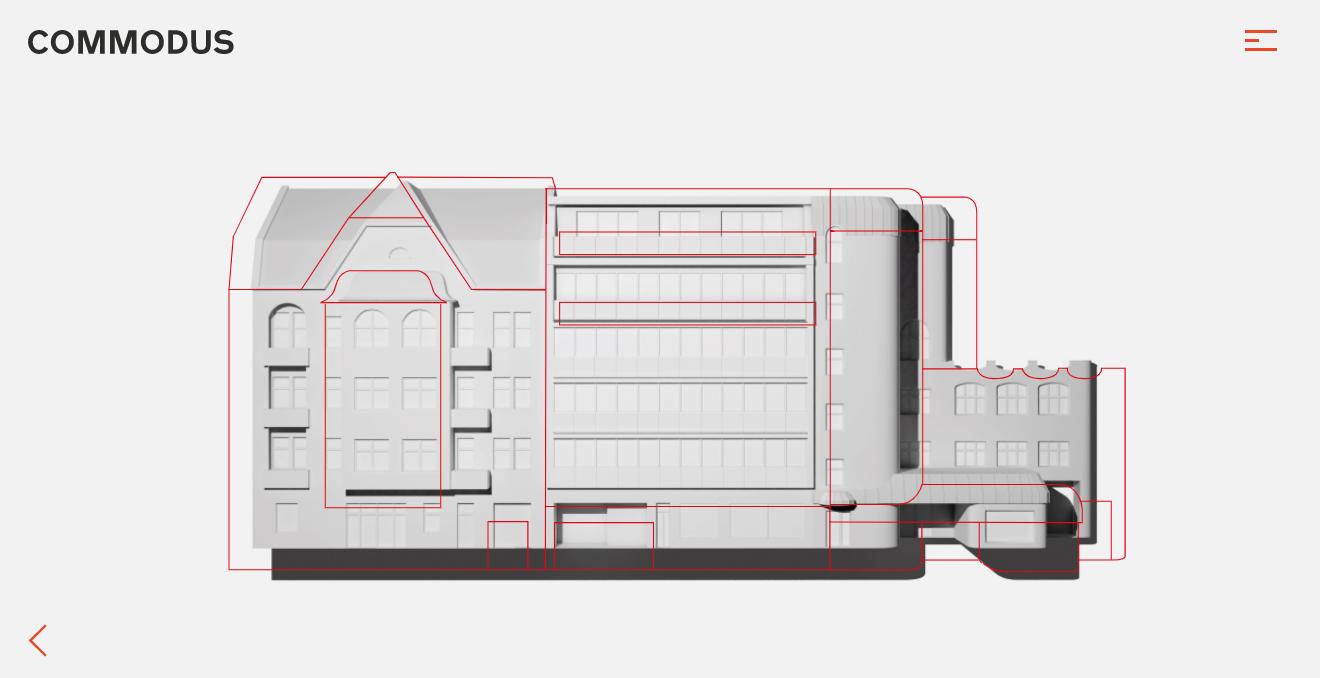 Orpetron Web Design Awards - Commodus Real Estate - Web Design Awards Inspiration Trends UI UX