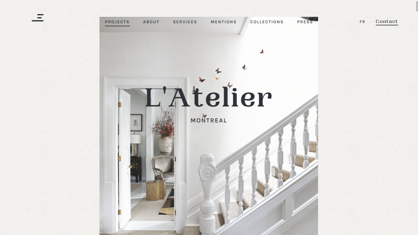Orpetron Web Design Awards - Les Ensembliers - Web Design Awards Inspiration Trends UI UX