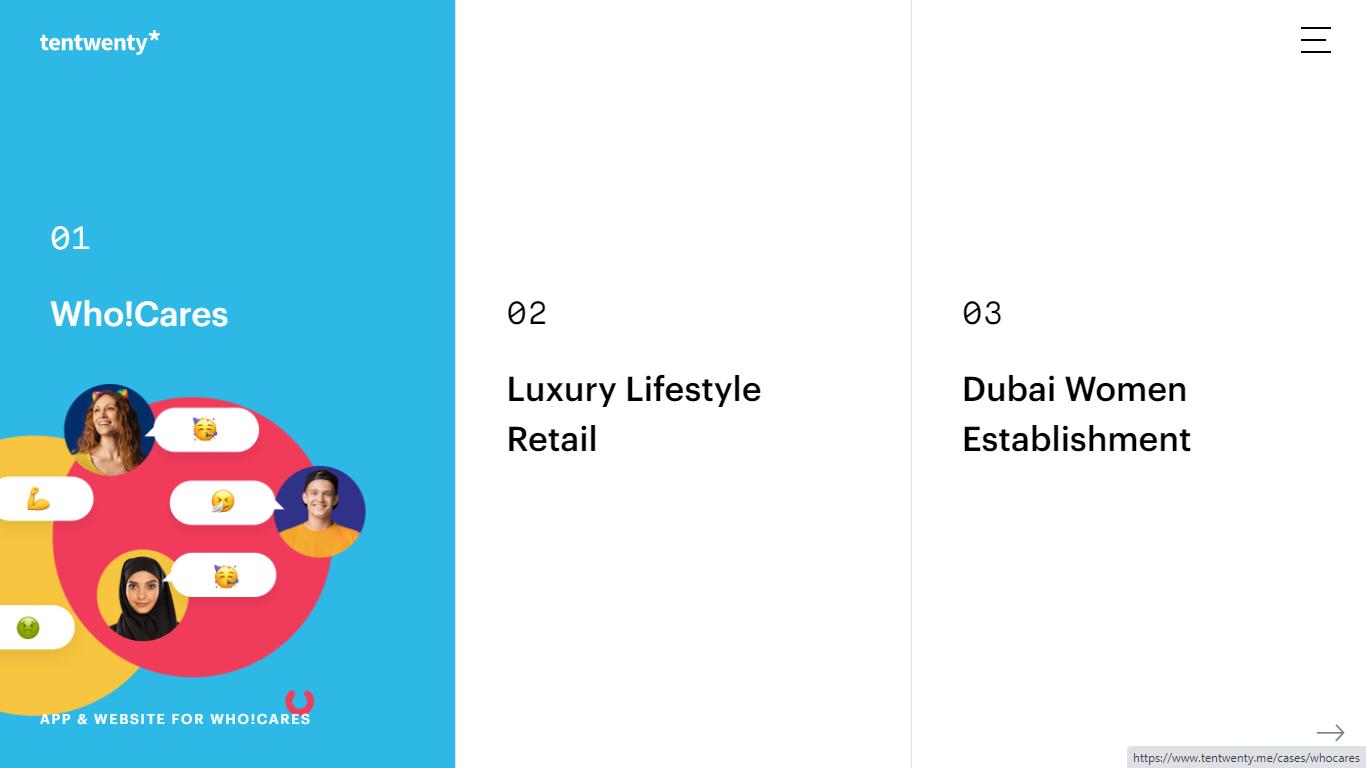 Orpetron Web Design Awards - TenTwenty digital agency - Web Design Awards Inspiration Trends UI UX
