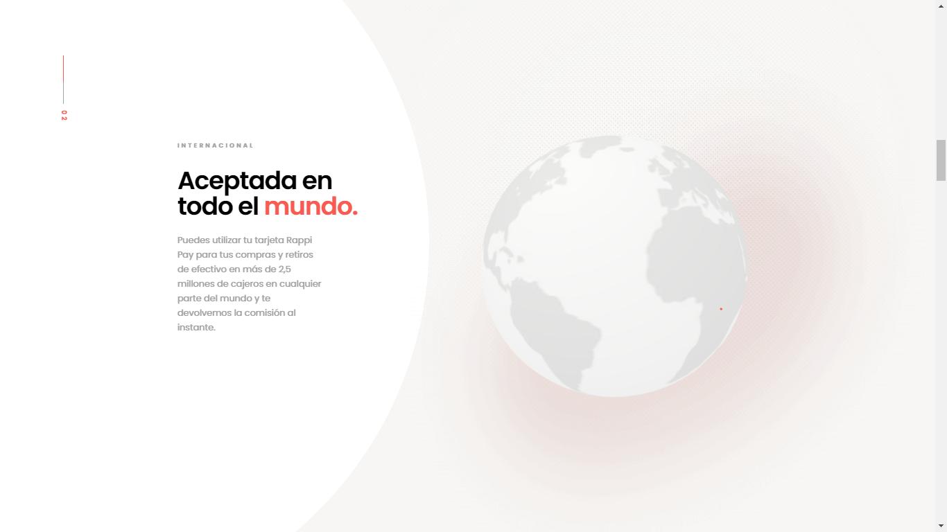 Orpetron Web Design Awards - RappiPay - Web Design Awards Inspiration Trends UI UX