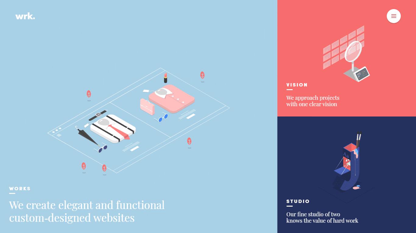 Orpetron Web Design Awards - waaark - Web Design Awards Inspiration Trends UI UX