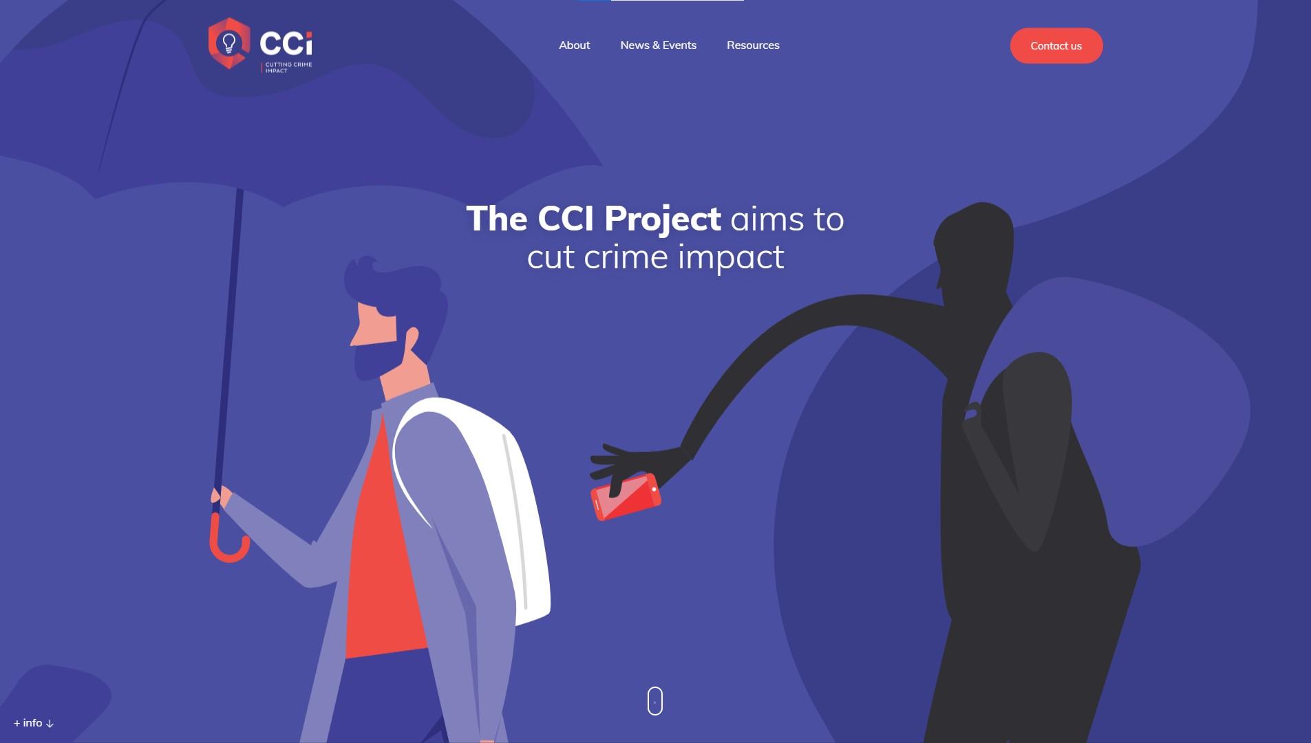 Orpetron Web Design Awards - CCI – Cutting Crime Impact - Web Design Awards Inspiration Trends UI UX