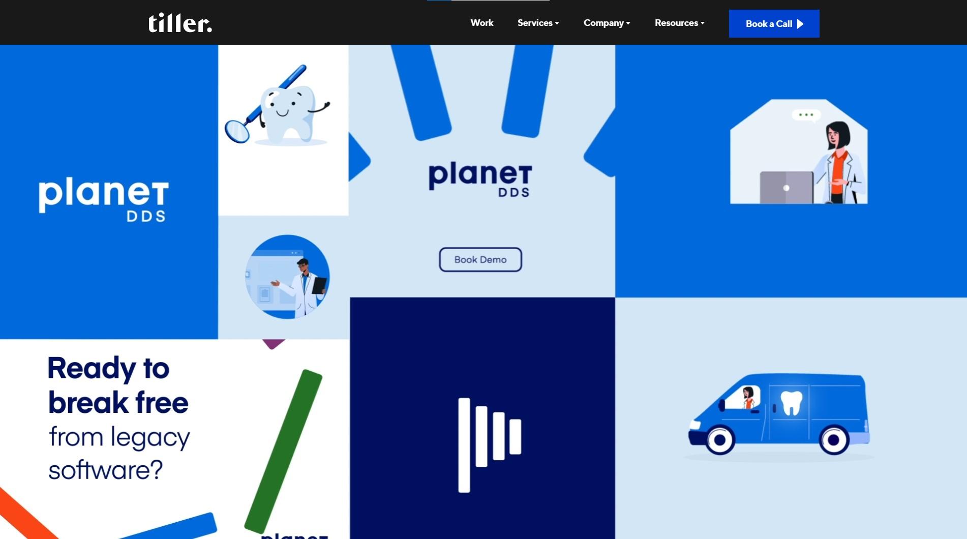 Orpetron Web Design Awards - Tiller Digital - Web Design Awards Inspiration Trends UI UX