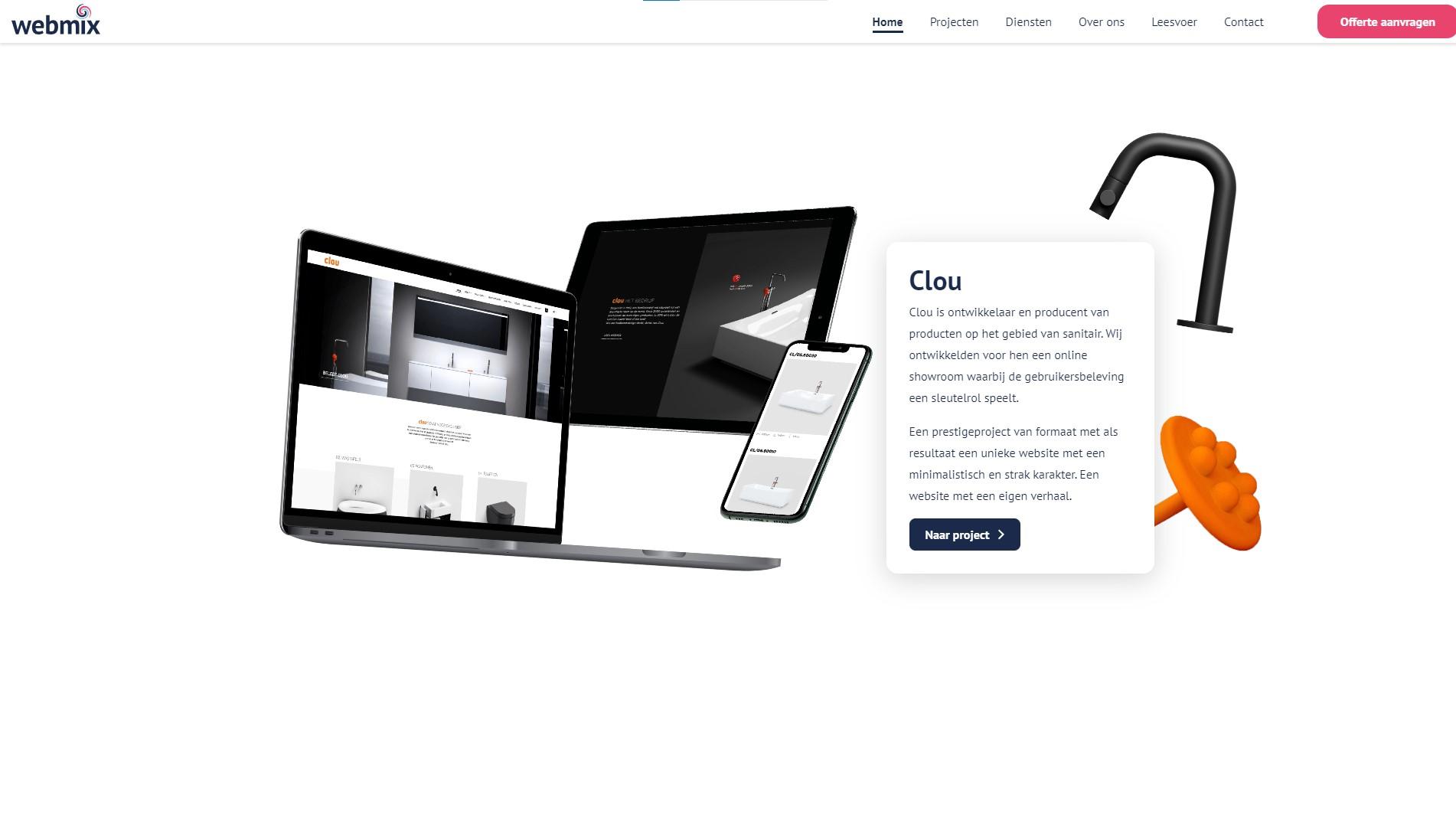 Orpetron Web Design Awards - Webmix - Web Design Awards Inspiration Trends UI UX