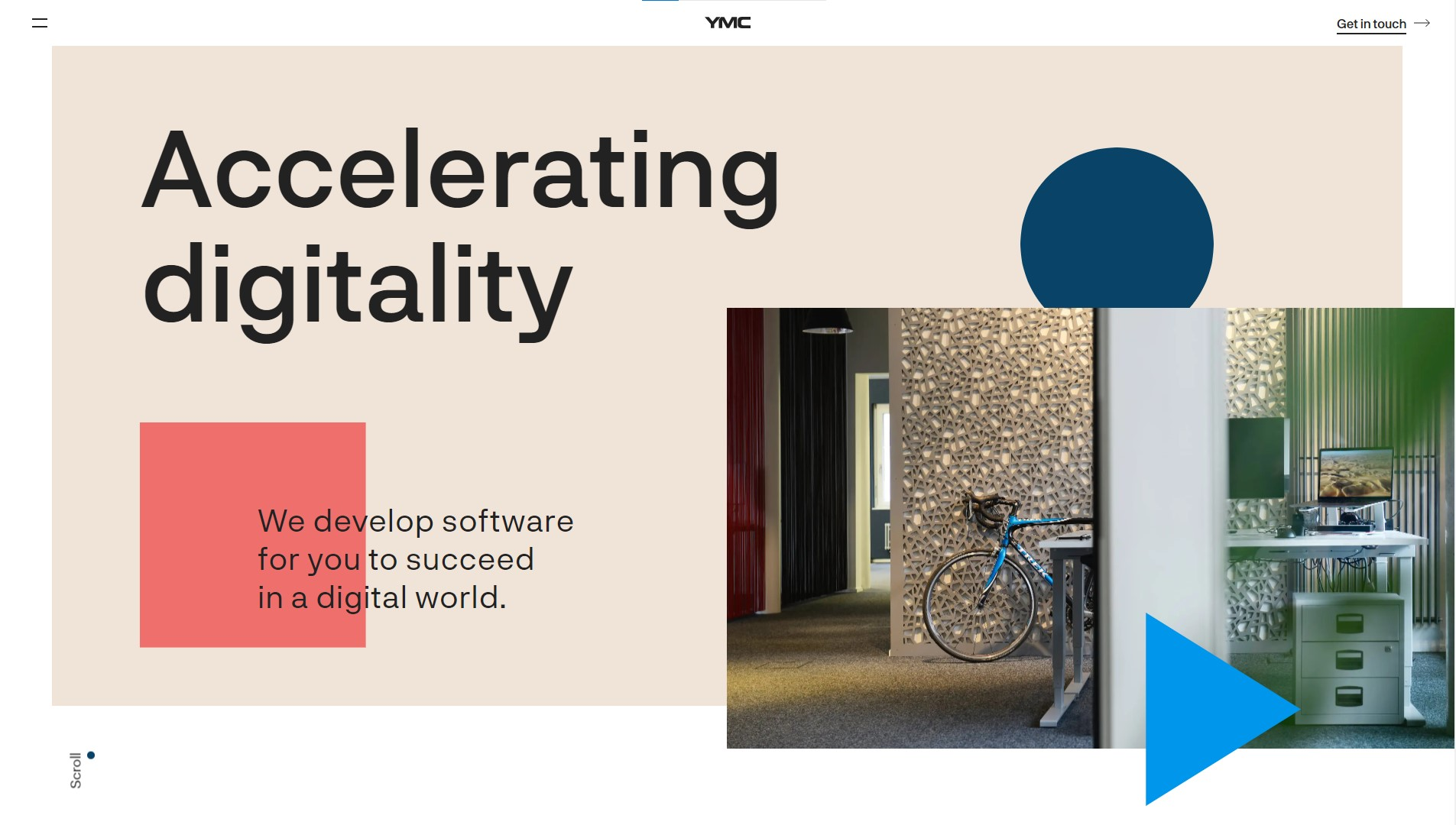 Orpetron Web Design Awards - YMC – Swiss Tech Consultancy - Web Design Awards Inspiration Trends UI UX